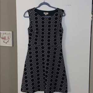 Loft Outlet Fit and Flare Dress